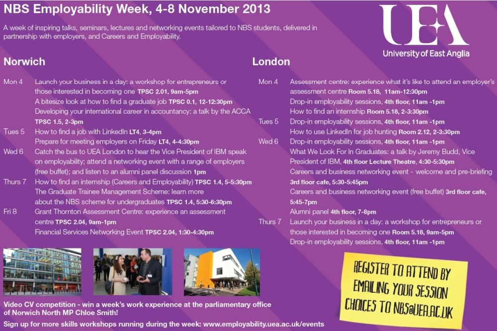 Employability Week