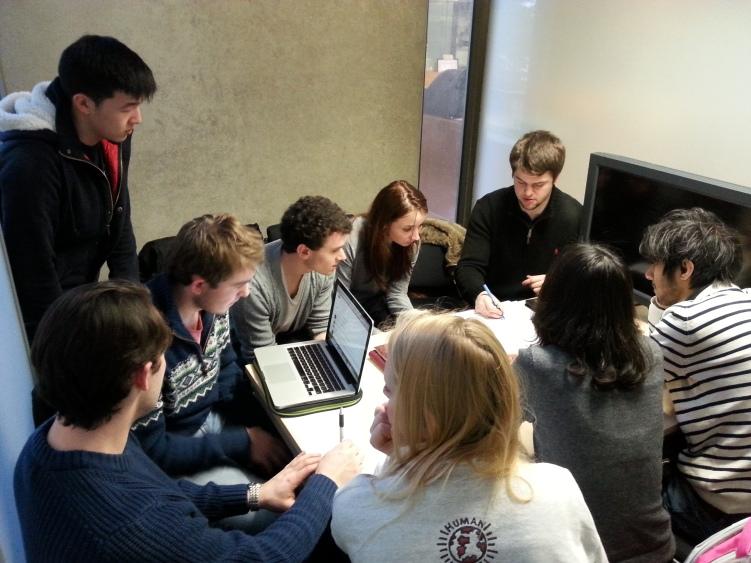 UEA Enactus Meeting University of East Anglia
