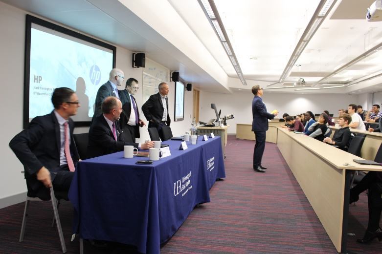 Keynote speaker and employer panel discussion at norwich business school uea university of east anglia norwich uk