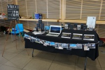Exhibition stands from regional finalists